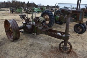 John Deere Unstyled A Parts Tractor