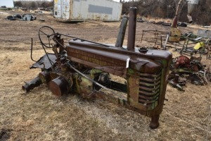 John Deere A Parts Chassis