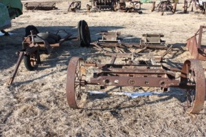 Engine Carts, Rolling Stalk Chopper, Ferguson Tool Bar