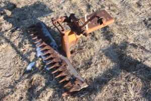 Gravely front mount sickle bar mower