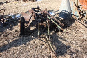 2 bottom pull type John Deere model 44 rope trip plow