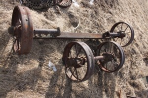 John Deere implement wheels and axles