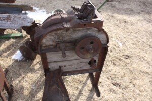 John Deere 2 hole corn sheller