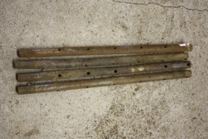 (4) used and reproduction high crop inner tie rods