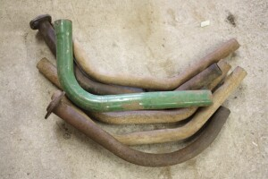 used and reproduction exhaust pipes