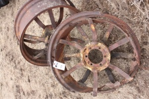 John Deere GP rear cut down wheels