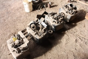 Four 17 HP Kohler Engines removed from 317 Lawn & Garden Tractors -
