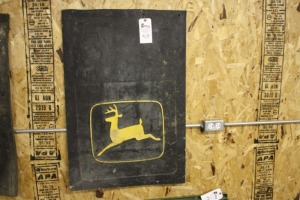 single John Deere mud flap
