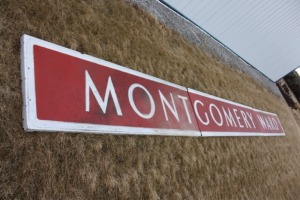 HUGE Montgomery Wards Sign