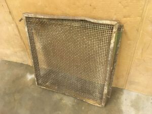 "GP Radiator Guard Curtain for 6"" bore tractors"