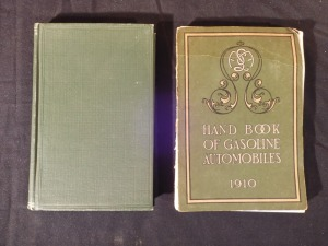 Gasoline Automobiles, Hand Book of Gasoline Automobiles