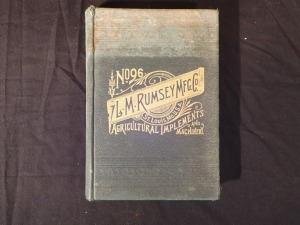 LM Rumsey Mfg. Co. Cataloge