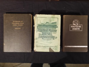 3 Diesel Engine Books