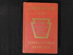J Jacob Shannon Catalog