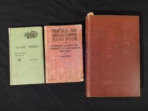 3 Gas Engine Books
