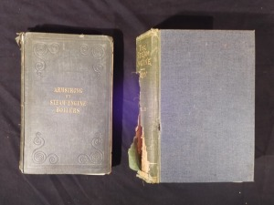 2 Steam Engine Books