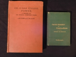 2 books, Engine Power & Dynamos- Crocker and Wheeler