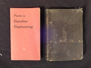 2 small books, Gas engine questions and Pump book