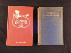 2 books on Aeroplane Engines