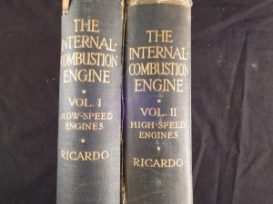 Internal Combustion Engine, vol. 1 & 2