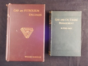 2 Gas and Oil Engine Books