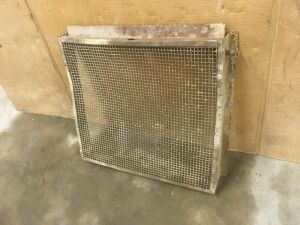"GP Radiator Guard Curtain for 5-3/4"" bore tractors"