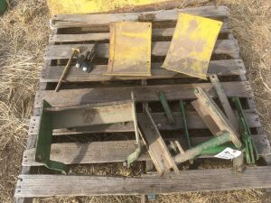 110 and 112 Lawn & Garden Tractor attachment and mounting parts