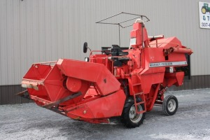 Massey No. 8 Test Plot Combine