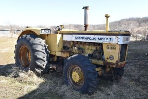 Minneapolis Moline G1000 Wheatland Diesel with FWA
