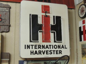 International Harvester SSP neon sign