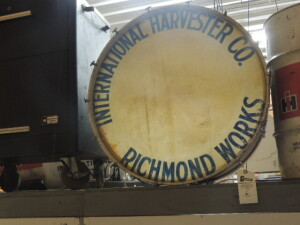 International Harvester Co. Richmond Works band drum