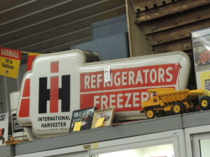 International Refrigerators Freezers double sided light-up sign