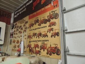 """The big new IH line"" heavy paper poster"