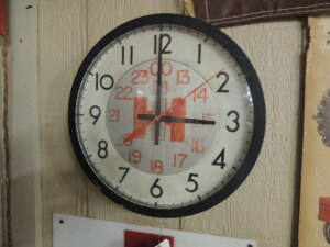 IH plant (?) 24-hr. electric clock