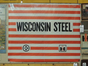 Wisconsin Steel heavy paper cover for band of steel