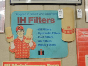 IH Filters light plastic dealer display