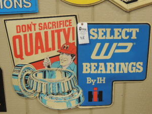 Select WP Bearings by IH plastic dealer display
