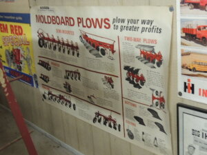McCormick International Moldboard Plows heavy paper poster