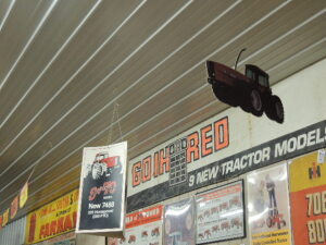 (2)-IH 7488 4WD cardboard, etc. hanging dealer displays