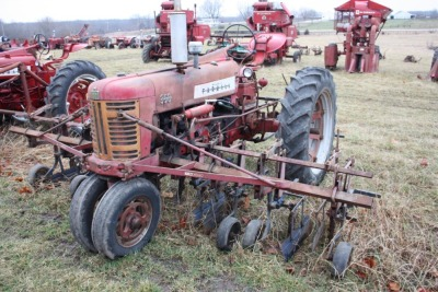 Farmall 350 with mounted 461 cultivator