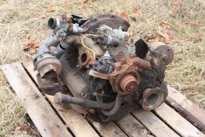 4 cylinder factory turbo engine for parts