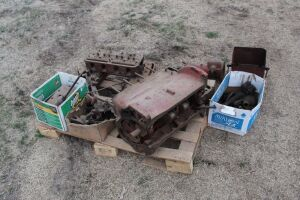 Farmall A and B parts lot