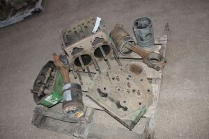 70 Diesel engine parts lot