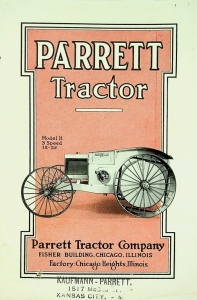 Parrett Tractor Company Model H, 3 Speed 12-25