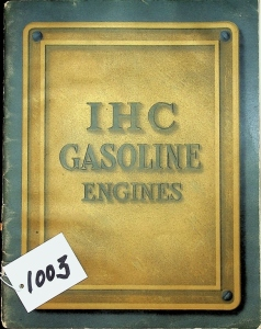 International Harvester Gas & Gasoline Engines