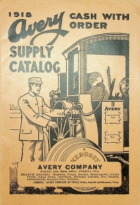 1918 Avery Supply Catalog