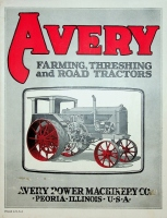 Avery Power Machinery Threshing and Road Tractors Catalog