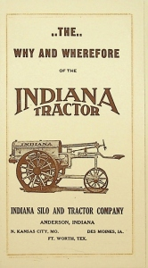 The Why and Wherefore of the Indiana Tractor Pocket foldout