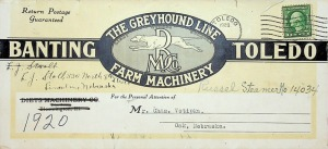 The Greyhound Line Farm Machinery