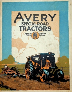Avery Company Special Road Tractors - The Bull Dog Line